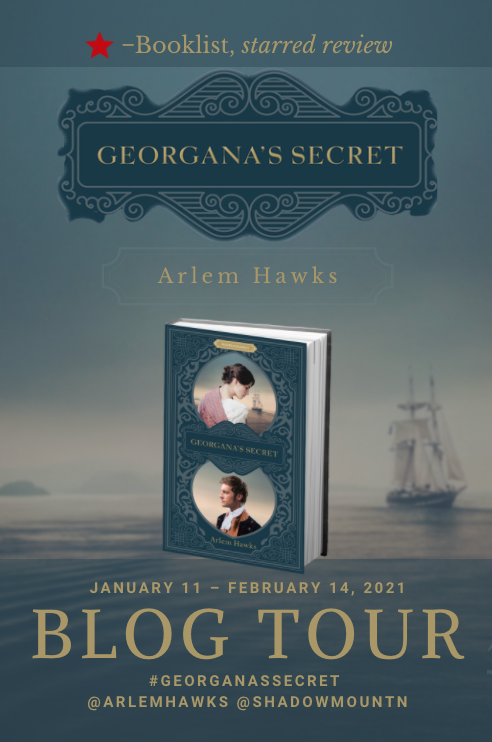 Book Showcase: GEORGANA'S SECRET by Arlem Hawks