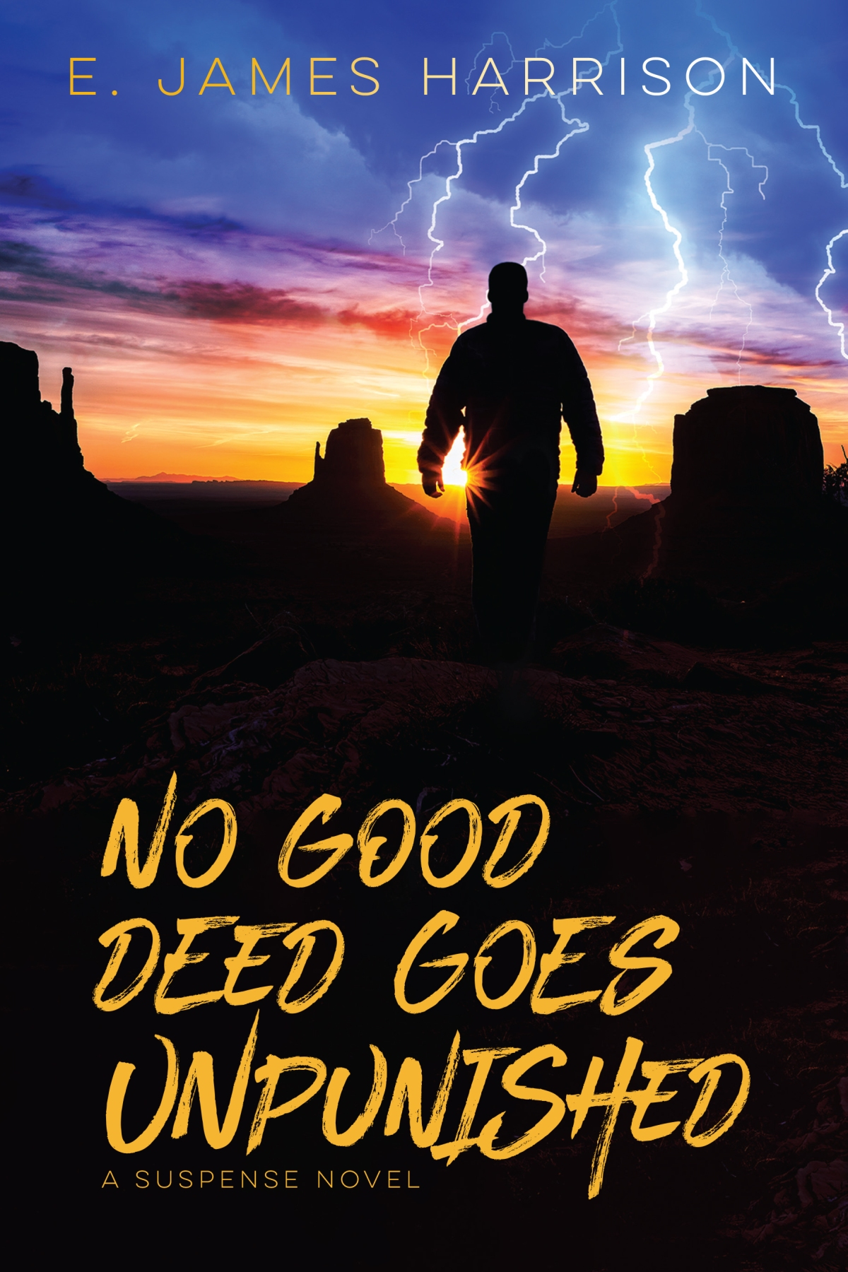 Book Blast: NO GOOD DEED GOES UNPUNISHED by E. James Harrison